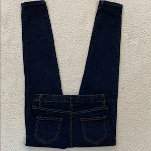 Baby Phat Dark Wash Straight Jeans  Size 14